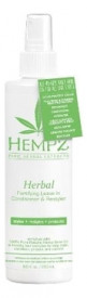 HEMPZ кондиционер Herbal Fortifying Leave-In Conditioner &
