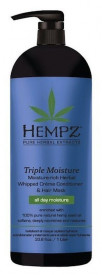 HEMPZ кондиционер Triple Moisture Replenishing Conditioner