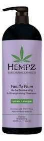 HEMPZ шампунь Vanilla Plum Herbal Moisturizing &